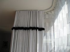 of my favorite drapery hardware systems for contemporary drapes