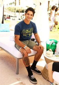 Actor Tyler Posey attends REVOLVE Desert House event, Thermal, California, America - 17 Apr 2016.