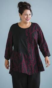 a line swing tunics plus size - Google Search