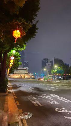 Aesthetic Korea, Night Aesthetic, City Aesthetic, South Korea Photography, Korean Photography, South Korea Seoul, South Korea Travel, City Wallpaper, Anime Scenery Wallpaper