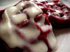 red velvet waffles :)