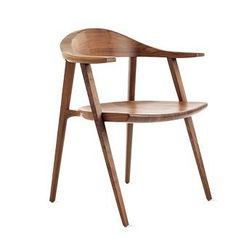Mantis Chair designed by Craig Bassam for BassamFellows. Contemporary yet traditional.