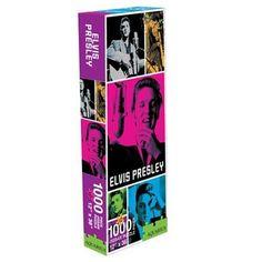 Elvis Presley puzzle Colors ref 308