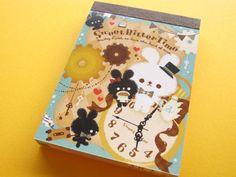 Kawaii Cute Mini Memo Pad Q-LiA *Sweet Bitter Time (84437)