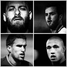Roma's Midfield Quartet 2014