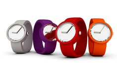 O'clock mirror watch - simple but colorful