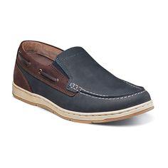 Nunn Bush Sloop Men's Boat Shoes, Size: medium (10.5), Blue (Navy)