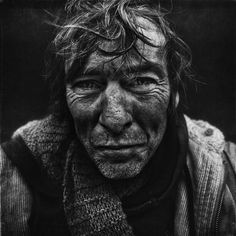 Old face, wrinckles, lines of life, storyteller, powerful face, intense eyes, strong, emotional, portrait, b/w.