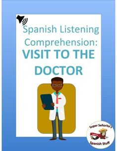 6 authentic listening activities for health and doctor unit!