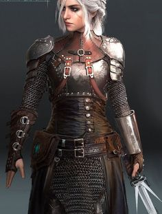 Excellent female armor - could use more plate around abdomen