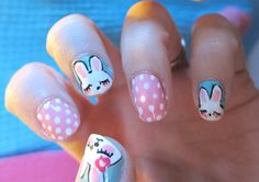 Bunny nails!