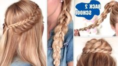 Cute Easy Braided Hairstyles For Long Hair Compilation