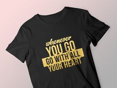 I make typography and logo based t-shirt design. Place order to make your custom t-shirt.