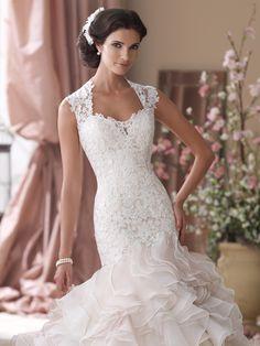 Style No. 114276 » David Tutera for Mon Cheri»wedding dresses 2013 and bridal gowns 2014