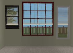Fitted Blinds One Mesh Fits in ANY window! TheNinthWaveSims