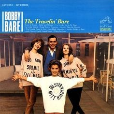 """""""The Travelin' Bare"""" (1964, RCA) by Bobby Bare.  His third LP."""