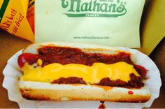 #2 Nathan's Famous, Coney Island, Brooklyn, N.Y. from America's 75 Best Hot Dogs 2016