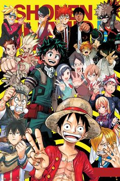 Weekly Shonen Jump Vol. The Straw Hats prove to be the ultimate party crashers when they wreck Big Mom's shindig in One Piece! And in We Never Learn, the lights go out in the middle of a study session! Plus, more motorized mayhem in Yu-Gi-Oh! ARC-V! Otaku Anime, Anime Meme, Anime Naruto, Manga Anime, All Anime, Wallpaper Animes, Cute Anime Wallpaper, Animes Wallpapers, Bleach Anime