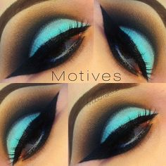 love how pretty the colors are, bright and vivid motives cosmetics