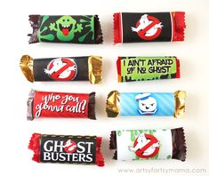 Ghostbusters Themed Halloween Boo Bag with free printables! Group Halloween Costumes, Halloween Boo, Halloween Treats, Happy Halloween, Halloween Decorations, Ghostbusters Birthday Party, Ghostbusters Theme, 1st Birthday Parties, 4th Birthday