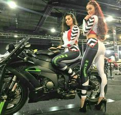 ‪Final day for our promotional models Keira and Natalie with Bolton Motorcycles at the EventCity Manchester Motorcycle Show ‬ ‪ Girl Riding Motorcycle, Motorbike Girl, Lady Biker, Biker Girl, Motard Sexy, Ducati, Hot Girls, Monster Energy Girls, Promo Girls