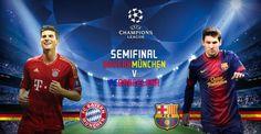 Barcelona vs Bayern Munich Live Soccer, Full Match, One Team, Sport Watches, Champions League, Munich, Barcelona, Bavaria, Barcelona Spain