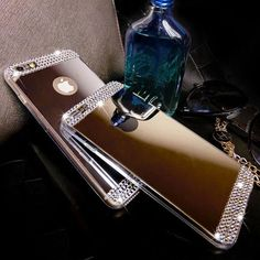 Check out the iPhone 6/Plus Rhinestone Bling Case. This is a must have for everybody who loves Bling!! Features: - Design for Apple iPhone 6/6S/Plus - Use environmental non-toxic TPU, silky smooth and