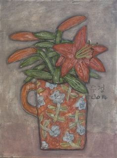 Tiger Lily inside a Mug (Soo Jung Cho)