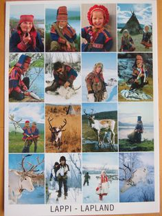 Sami people in Lapland, Finland