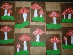 vyrábíme s dětmi podzim - Hledat Googlem Autumn Crafts, Fall Crafts For Kids, Diy And Crafts, Kindergarten, Projects To Try, Holiday Decor, Mushrooms, Autumn, Preschool