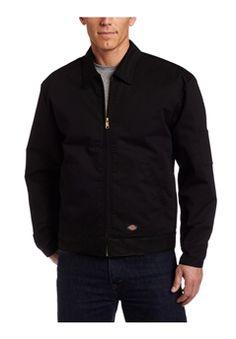 Dickies TJT15BK Lined Eisenhower Black Jacket ! Buy Now at gorillasurplus.com