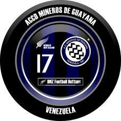 DNZ Football Buttons: ACCD Mineros de Guayana