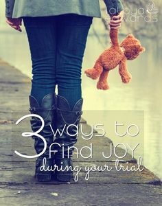 Hard times often leave us worn out and exhausted. It doesn't have to be that way. You don't have to allow your trials to steal your joy! Here are three ways to help you reclaim what's yours!