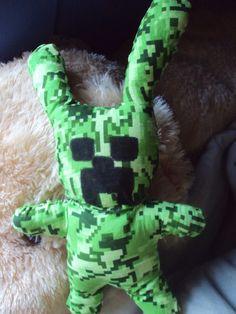 DIY Creeper Bunny Plush