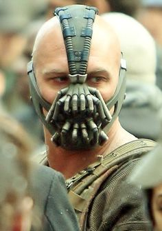 Bane - Tom Hardy - just one look...