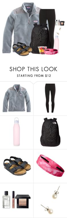 """Just got done with my first exam! 3 more to go:)"" by flroasburn on Polyvore featuring Splendid, The North Face, Birkenstock, Bobbi Brown Cosmetics and J.Crew"