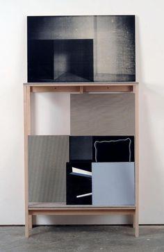 luftmentsh:   R.H. Quaytman Chapter 13: Constructivismes 2009 2009 Mixed media on plywood panels; 9 elements plus shelf Dimensions variable ...