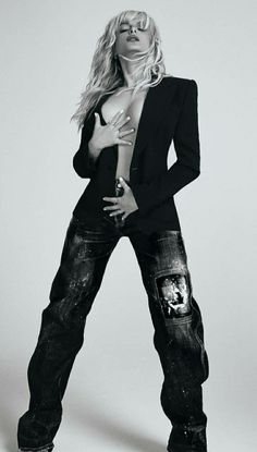 Bebe Rexa, Bad Girl Aesthetic, Boobs, Leather Pants, Celebrity, Celebs, Female, Photos, Style