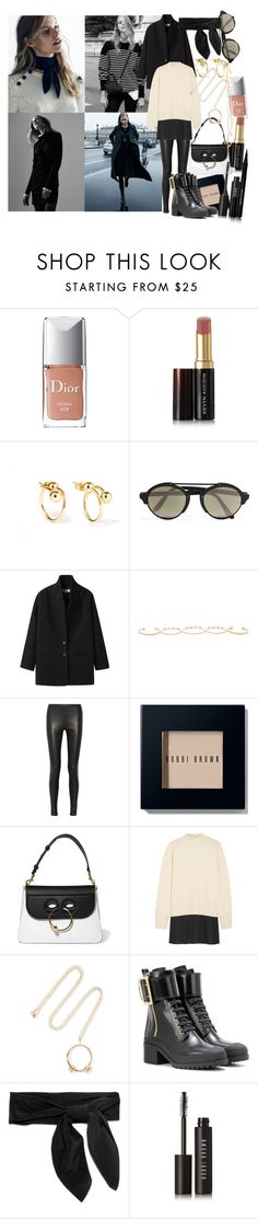 """""""If chaos is a work of art, then my heart is a masterpiece"""" by brownish ❤ liked on Polyvore featuring Christian Dior, Kevyn Aucoin, Jette, J.W. Anderson, Illesteva, Vanessa Bruno Athé, Isabel Marant, Balenciaga, Bobbi Brown Cosmetics and MM6 Maison Margiela"""