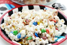 Party Popcorn #recipe #dessert #snack