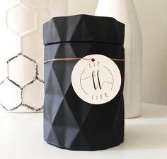 Lit Life Matte Black Diamond Soy Candle 1