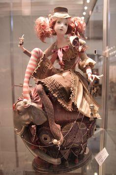 Авторская кукла на выставке