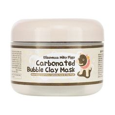 Face Masks: Elizavecca Milky Piggy Carbonated Bubble Clay Mask - BestProducts.com