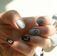 Nails Inc Monogram Mani Swatch Monogram Nails, Nails Inc, Nail Ideas, Swatch, Pattern, Beauty, Patterns, Model, Beauty Illustration