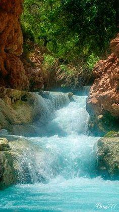 Wasserfall - Gif