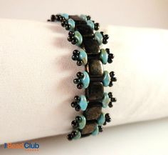 Stepping Stones Bracelet (starts 40sec in)  #Seed #Bead #Tutorials