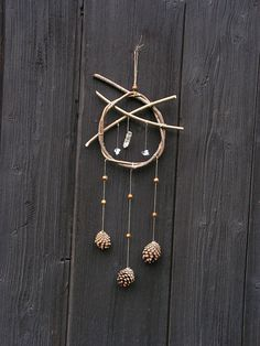 Rock Crystal Native american dream catchers by WildForestGallery, $32.00