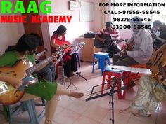RAAG MUSIC  ACADEMY FREE DEMO CLASSES SCHEDULE FOR GUITAR / KEY BOARD / DRUM  (Raipur, Shanakar Nagar Branch) Contact  9300058545, 9827958545 Note:- • Instruments will be provided by RAAG MUSIC ACADEMY. For more details contact:- RAAG MUSIC ACADEMY MAIN OFFICE: - SHANKAR NAGAR, OPP. OF VIDYA HOSPITAL, NEAR BY INDIAN CHILI RESTURANT, RAIPUR (C.G.) Cont.: 0771-4000545  Visitors' Days & Timings: - Monday to Saturday – 10.00 AM to 07.00 PM Mob-  93000-58545 www.raag.co.in