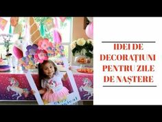IDEI INEDITE PENTRU PETRECERI DE ZILE DE NAȘTERE - idei pentru copii - YouTube Manual, Parenting, Craft Ideas, Frame, Youtube, Crafts, Home Decor, Bebe, Picture Frame