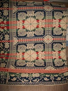 1853 John Weaver Coverlet with Several Colors Excellent Condition   eBay